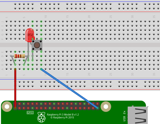 LED_ブレッドボード1